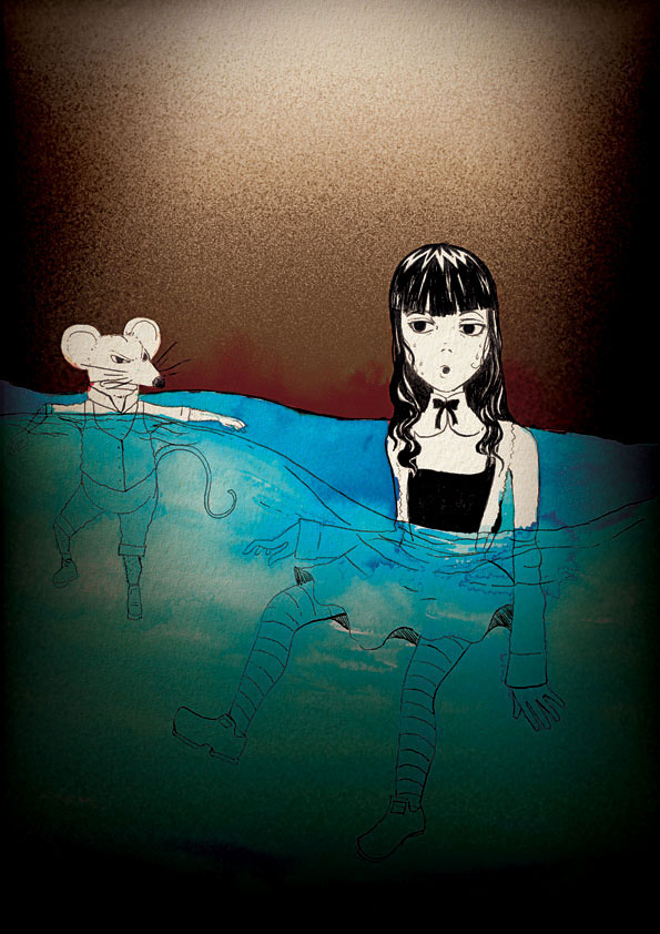 Alice at The Tear Lake